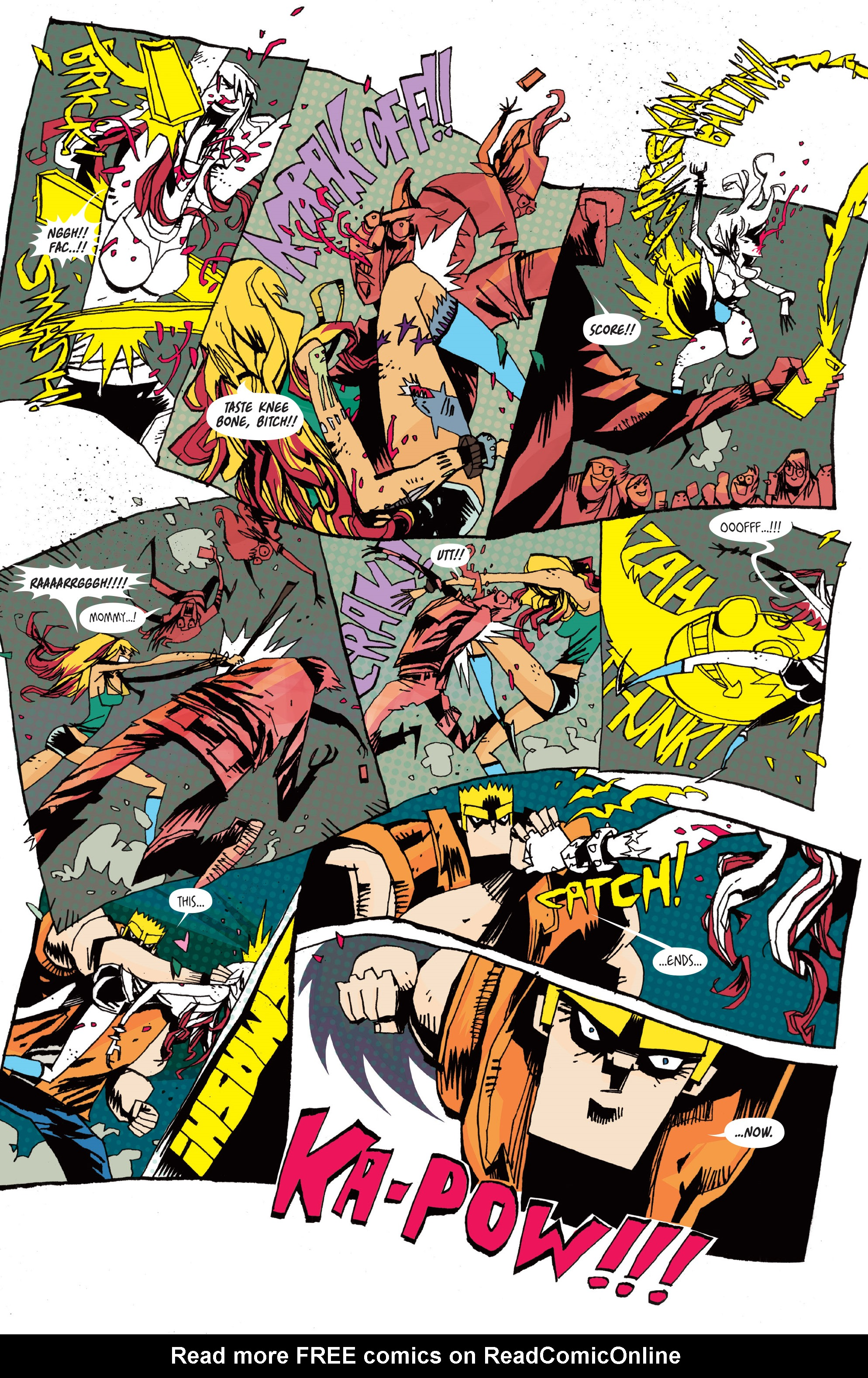 Read online Grrl Scouts: Magic Socks comic -  Issue #2 - 22