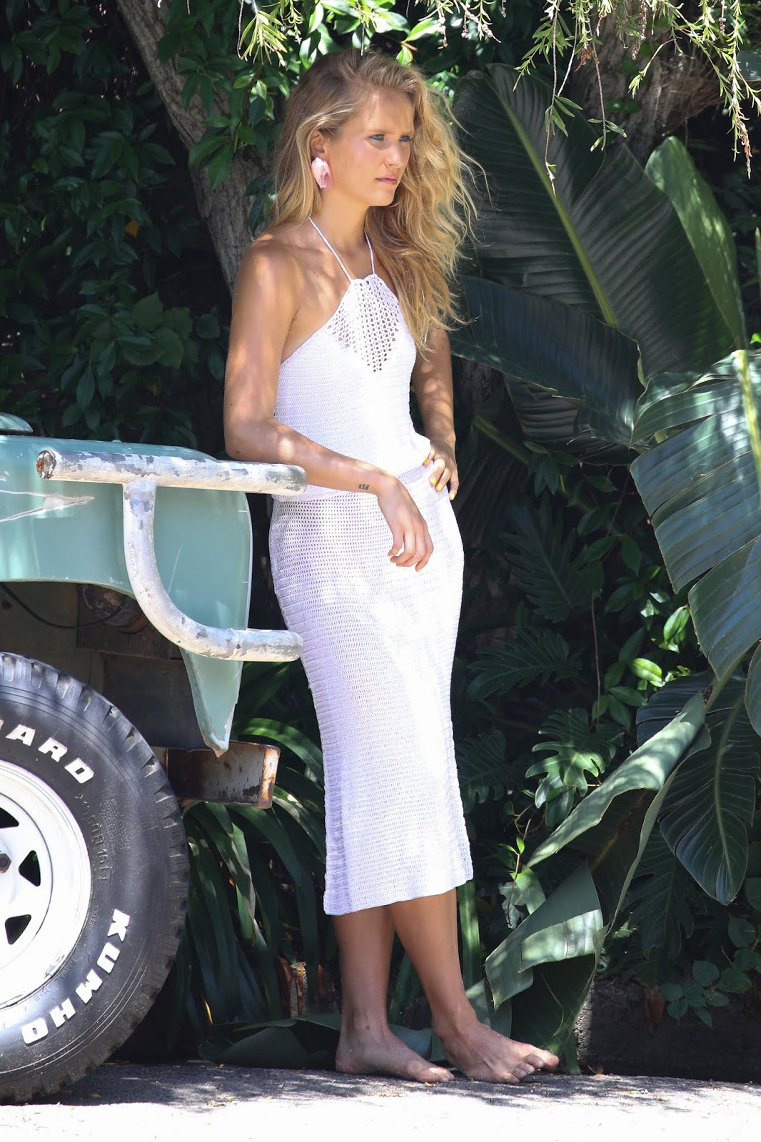 Sailor Brinkley-Cook pictured onset of a photoshoot in Sydney - 02/04/2019