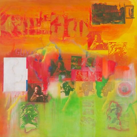 HAPPY BIRTHDAY, Guyana-born British Abstract expressionist painter