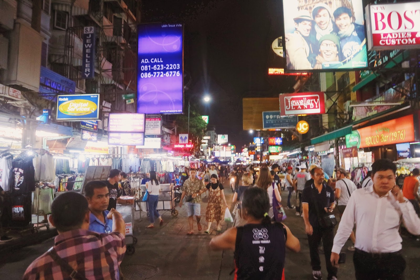 Khao San Road - Street View