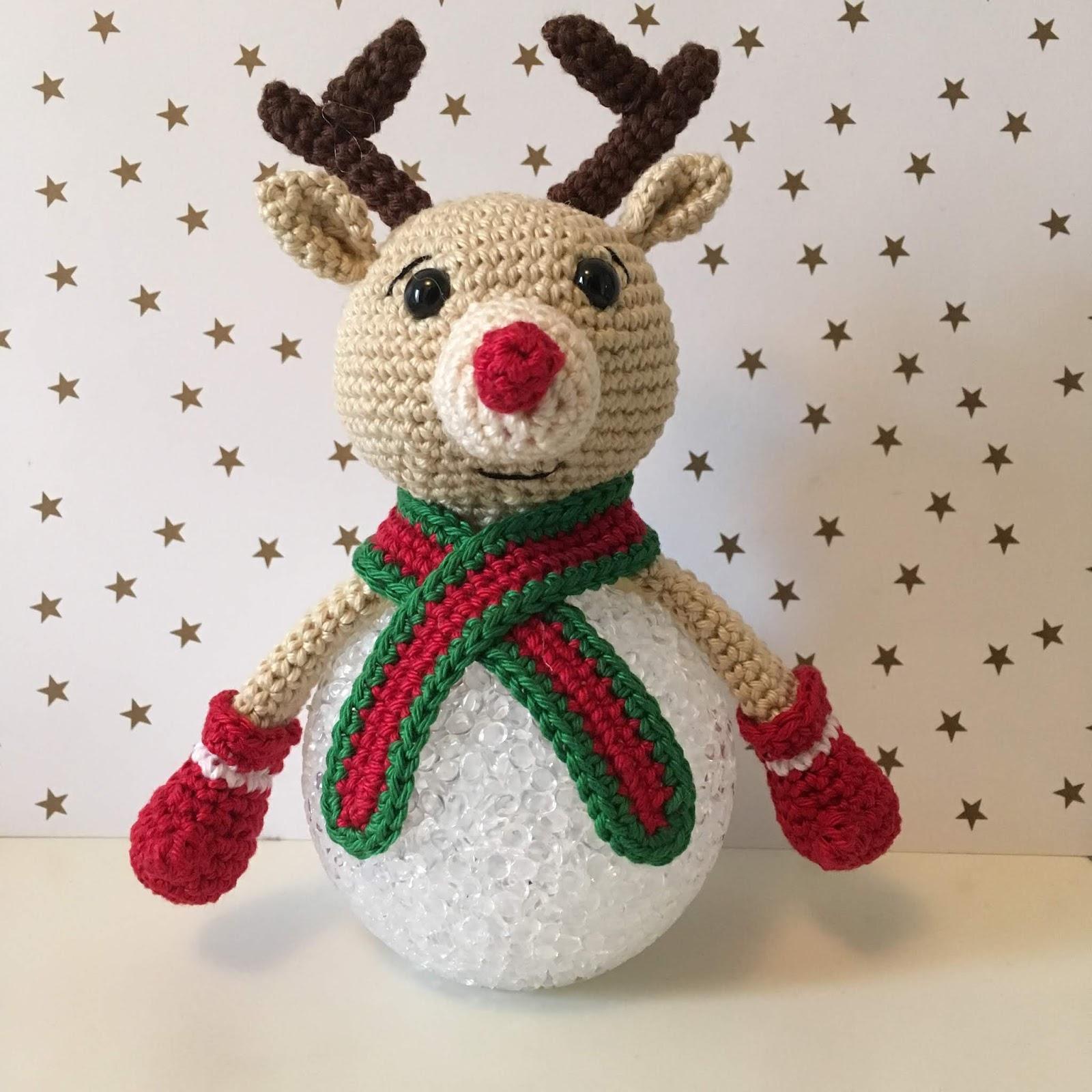 Handmade By E Sneeuwpop Op Ledbol