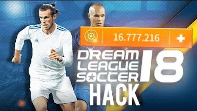 تحميل ملف تهكير لعبة دريم ليج 2018 Dream League Soccer