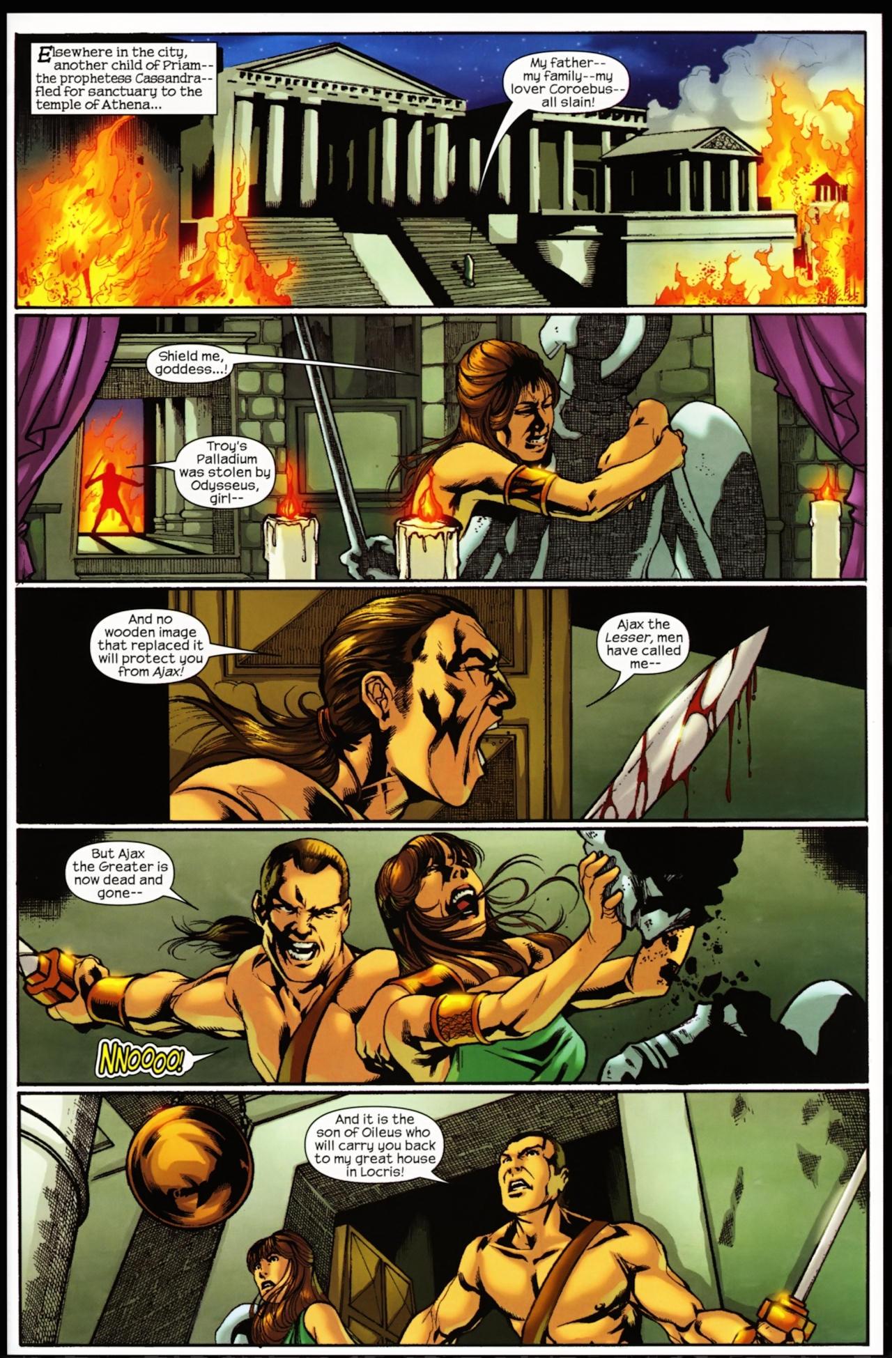 Read online Trojan War comic -  Issue #5 - 15