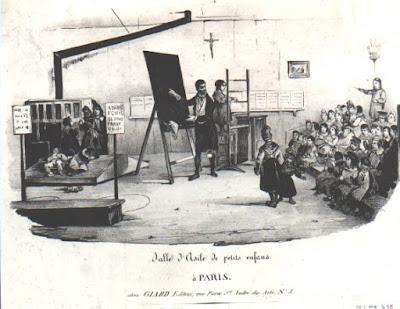 Une salle d'asile parisienne (document musée)