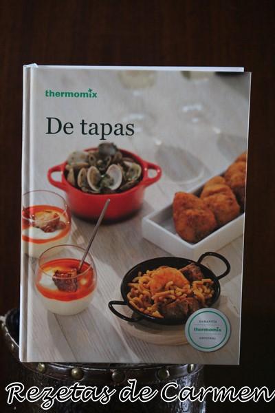 """Libro de recetas """"De tapas"""" con thermomix"""