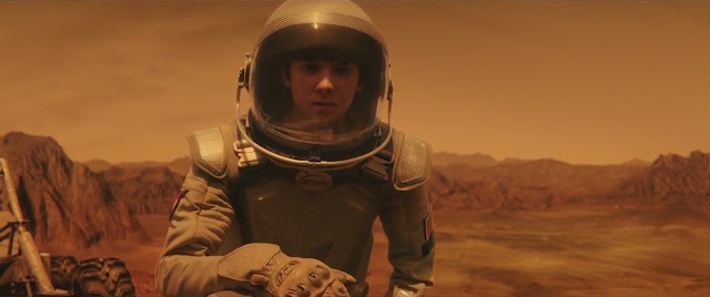 The Space Between Us Mars movie image - young astronaut