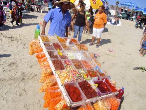 Vendor Rosarito Beach Mexico