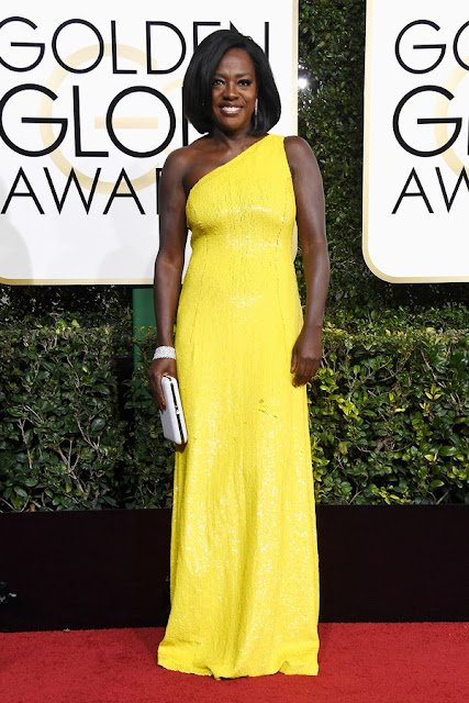 Viola Shines at golden globes 2017