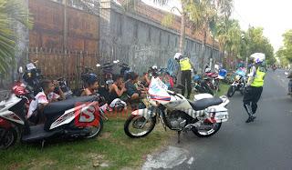 Balapan Liar Di Jalan Hayam Wuruk Digerebek Polisi