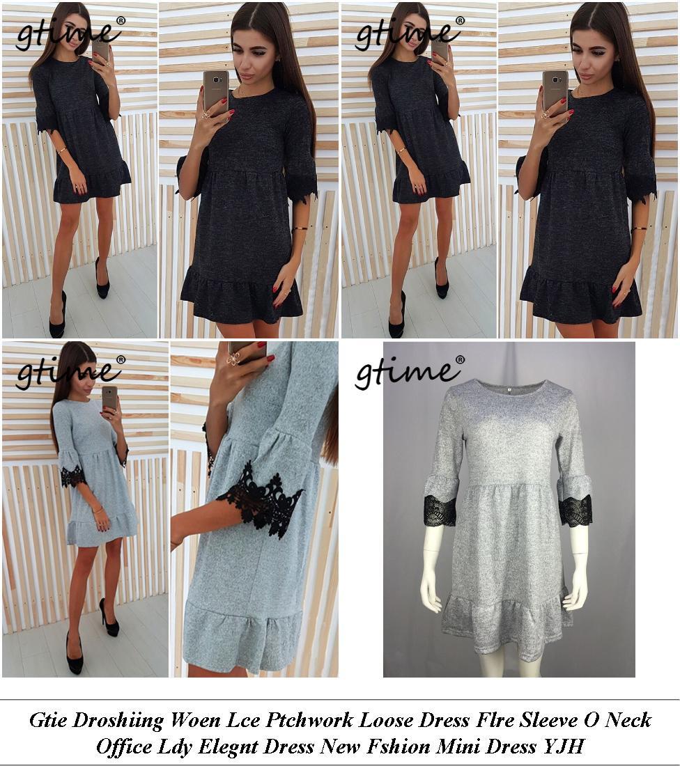 Womans Dresses - Shop For Sale - Denim Dress - Cheap Womens Clothes