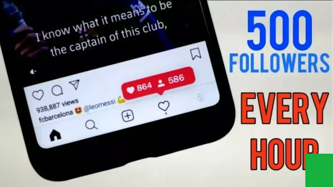 How to get unlimited Instagram follower for free | Zero to Unlimited depend on you.