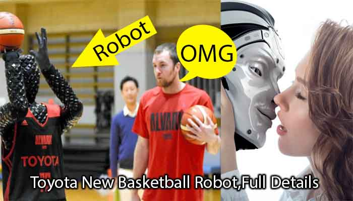 Toyota New Basketball Robot,Full Details Video