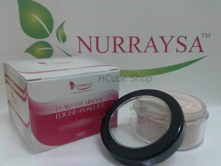 NURRAYSA FLAWLESS MINERAL LOOSE POWDER