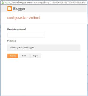 Cara hidden Tulisan Diberdayakan Oleh Blogger Mudah