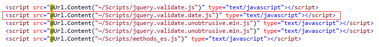 The field Date must be a date error in MVC Application