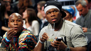 50 Cent calls Floyd Mayweather's Next Fight Opponent an Uber Driver shows Proof