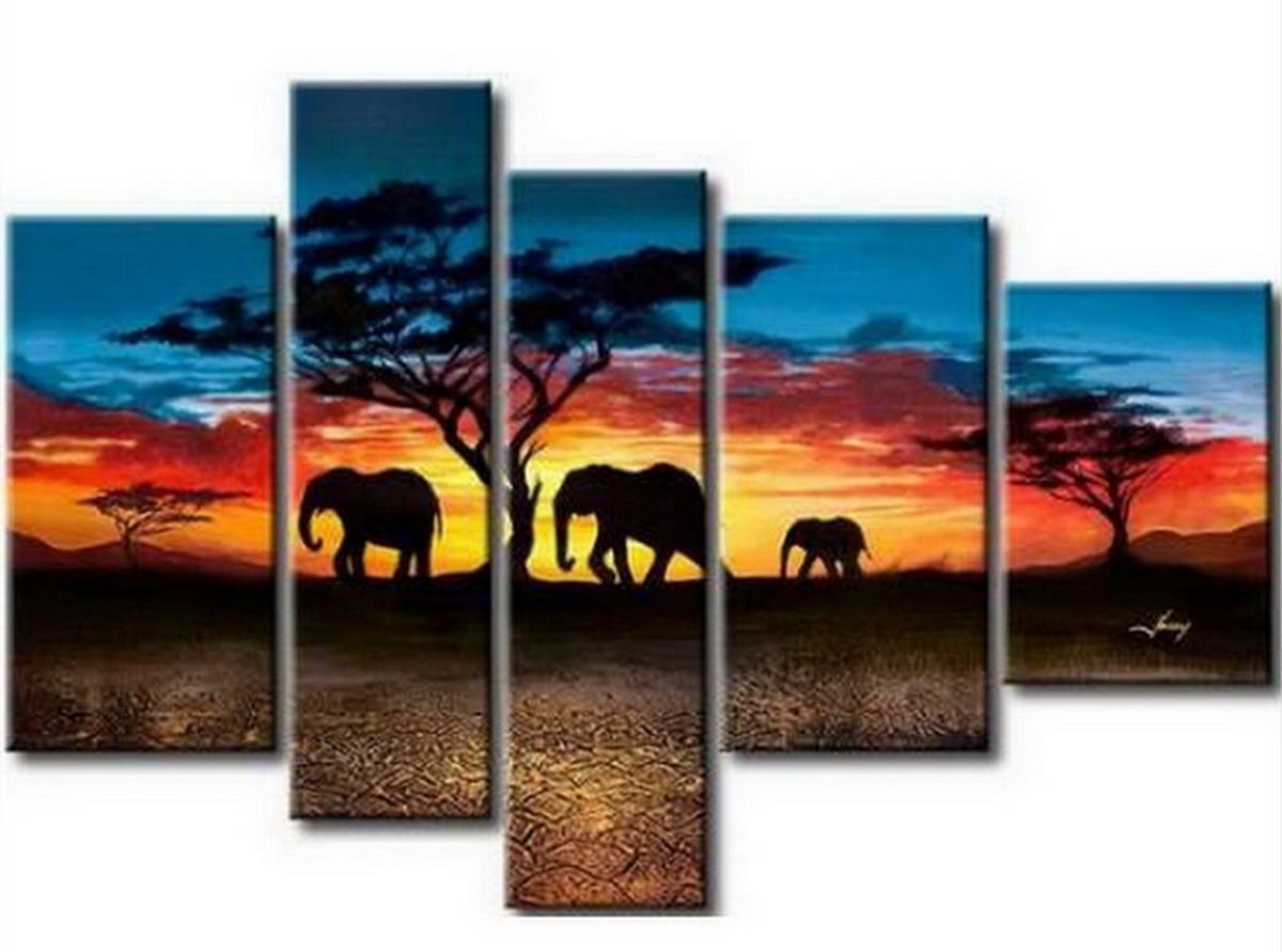 Cuadros modernos pinturas y dibujos paisajes para pintar - Cuadros para pintar en casa ...