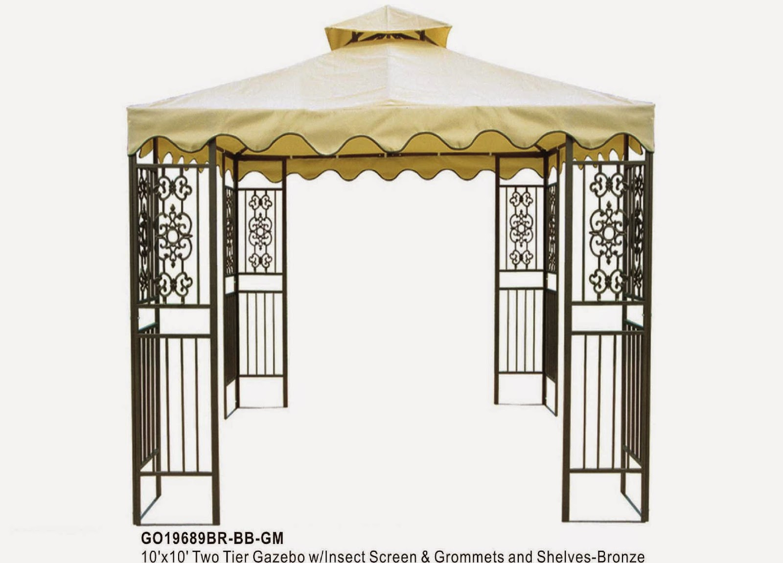 Gazebo Kings Gazebos For Sale Online: Metal Gazebo Kits