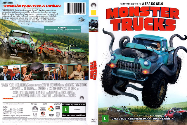 Capa DVD Monter Trucks (Oficial)