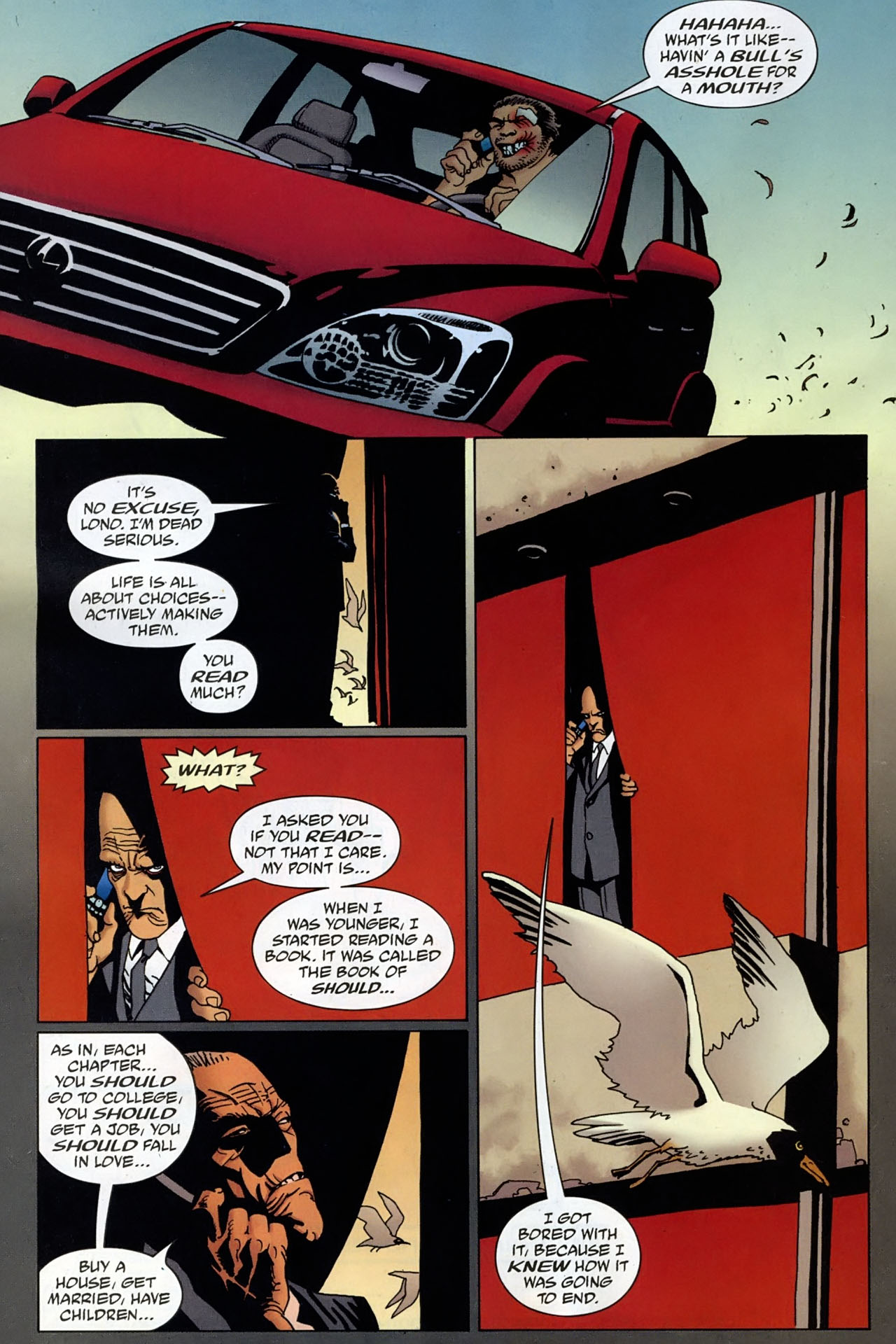 Read online 100 Bullets comic -  Issue #96 - 14