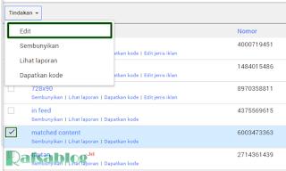 Cara Memonetize Iklan Matched Content Google Adsense