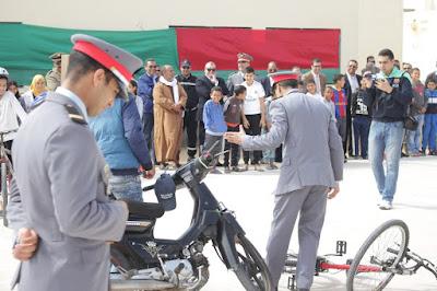 اليوم الوطني للسلامة الطرقية بطرفاية: إشراف رسمي على التظاهرات