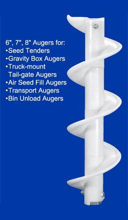 Plastic Auger Flighting Lighting Ideas