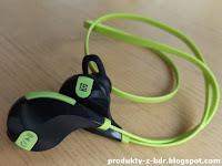 Bezprzewodowe słuchawki Active Sound BT AS-300s Hykker z Biedronki