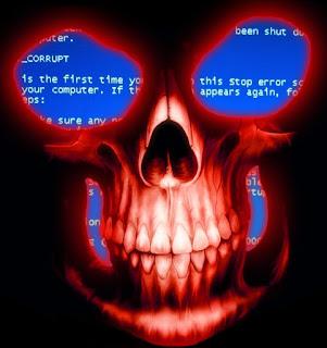 simbologia tela azul da morte