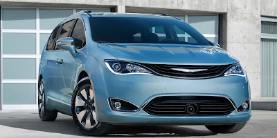 Chrysler Pacifica front fog lamp Hd image