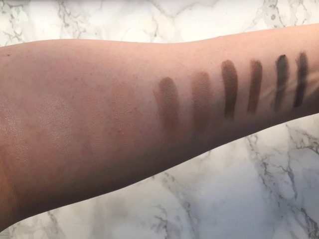 Urban Decay Naked Basics Dupe Swatches