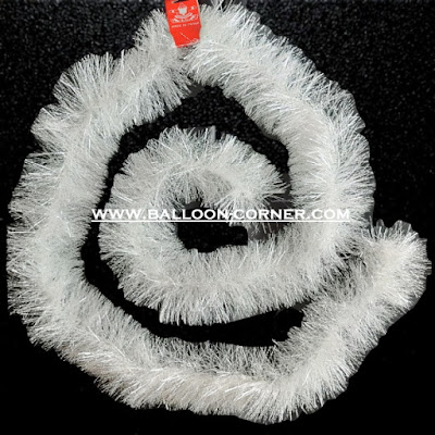 Slinger Natal Warna Putih