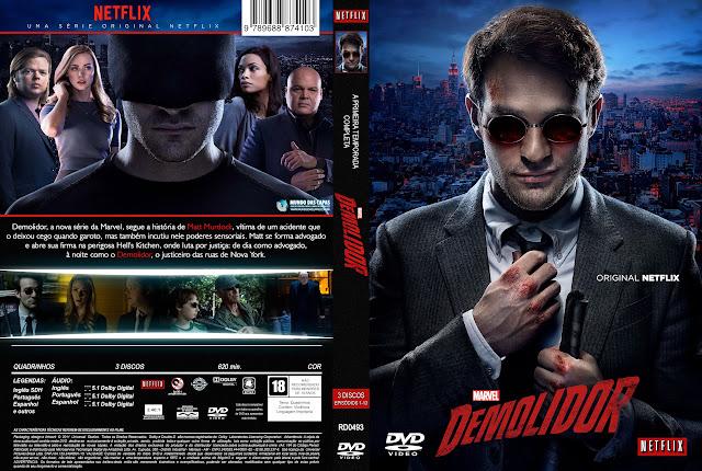 Capa Demolidor 1ª Temporada Completa