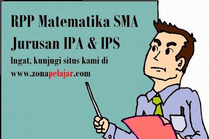 Download RPP Matematika Kelas X, XI, XII SMA Semester 1 dan 2