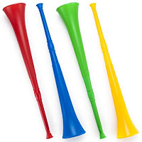 Alat Musik Tiup Vuvuzela