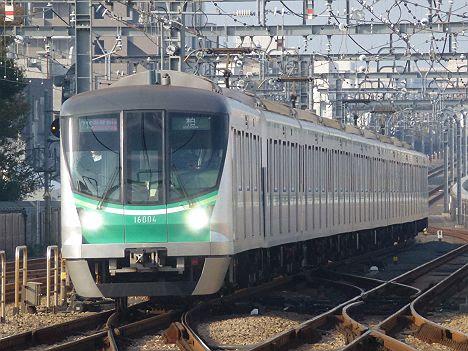 小田急電鉄 東京メトロ千代田線直通 多摩急行 柏行き3 16000系