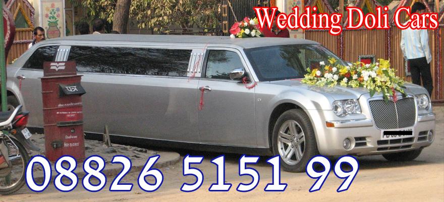 Wedding Doli Cars Limousine Car On Rent In Delhi