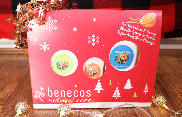 Benecos Sea Buckthorn & Orange Body Care Christmas Gift Set