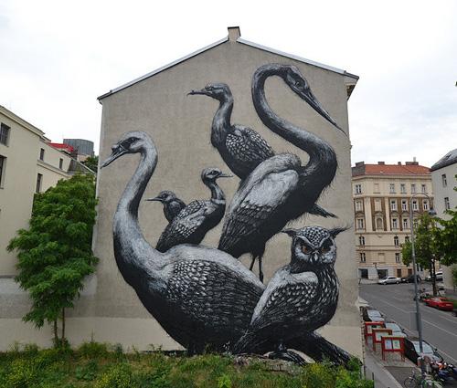 My Owl Barn Roa Street Art
