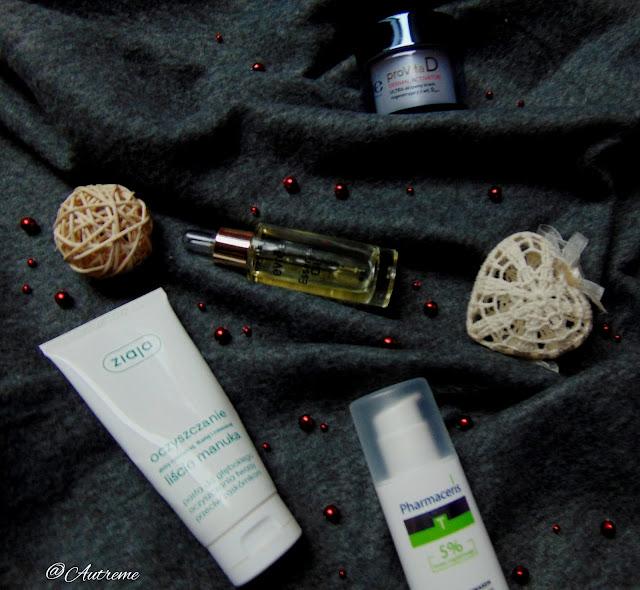 Oil skin care