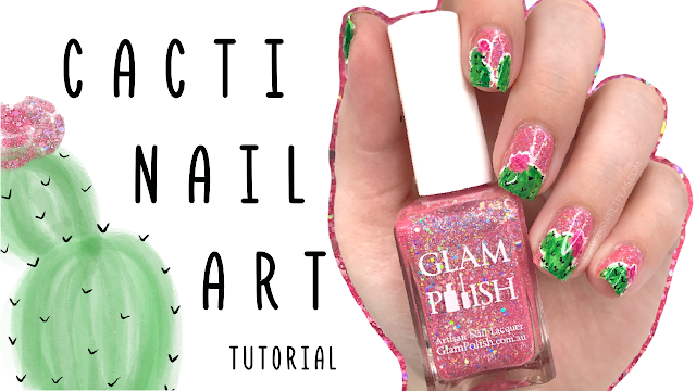 Easy Cacti Nail Art 25 Sweetpeas