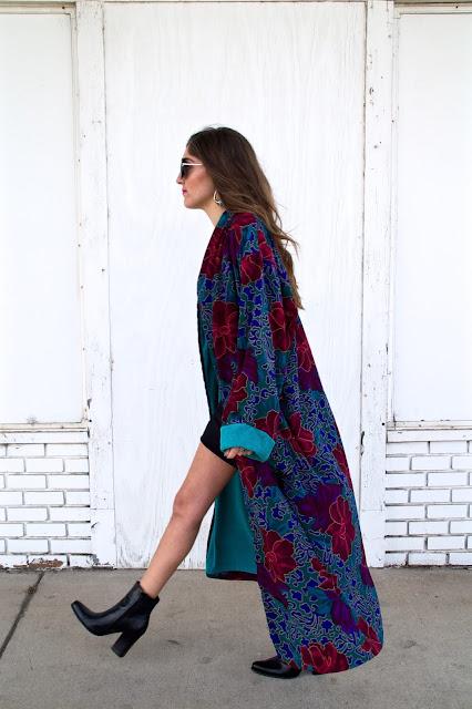 robe loungewear street style