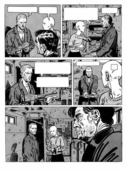 Snowpiercer Comic Book