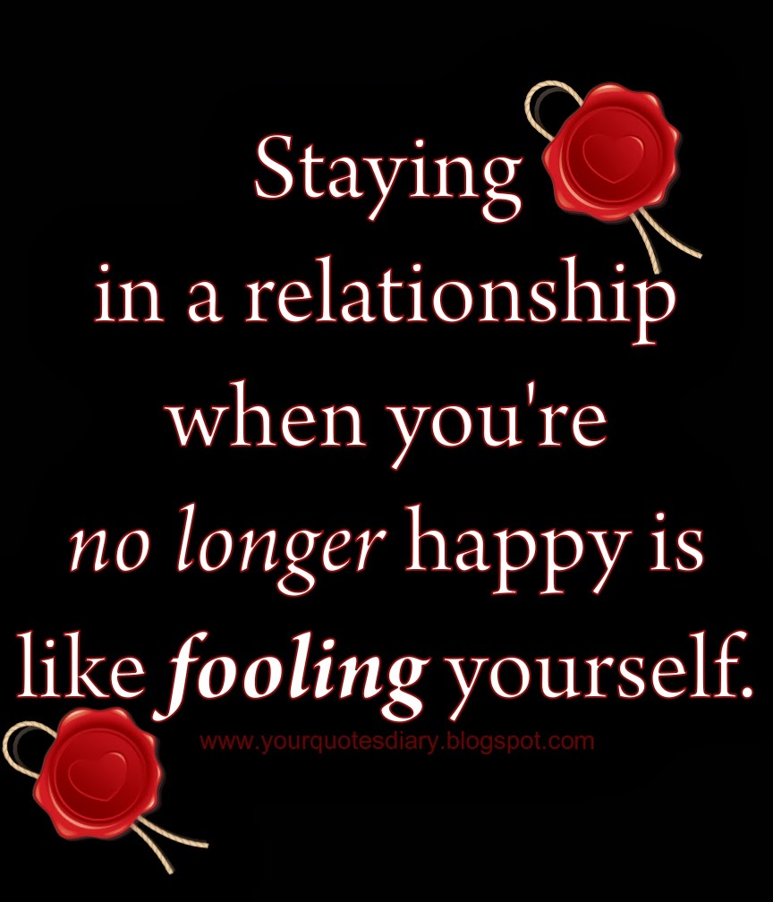 love but not happy relationship