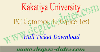 KU PGCET 2018 hall ticket download kucet admit card results