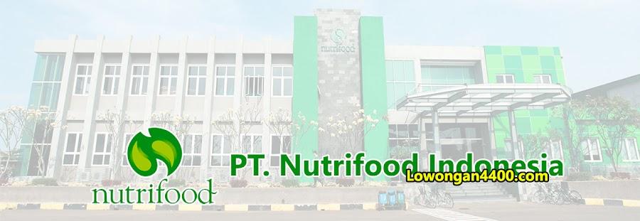 Lowongan Kerja PT Nutrifood Indonesia Cibitung 2020