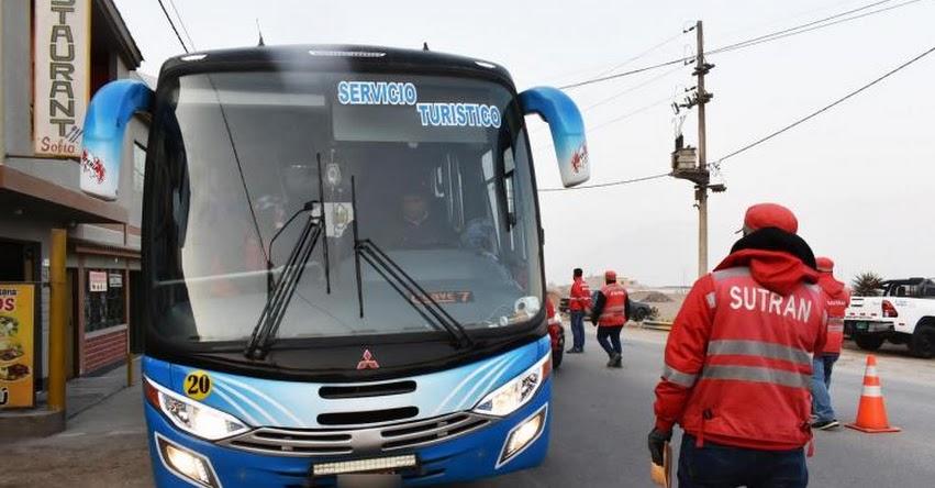 SUTRAN exhorta a comunidad educativa contratar vehículos formales para paseos escolares - www.sutran.gob.pe