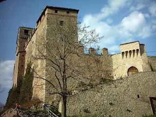 The Castle of Montecuccolo at Pavullo nel Frignano
