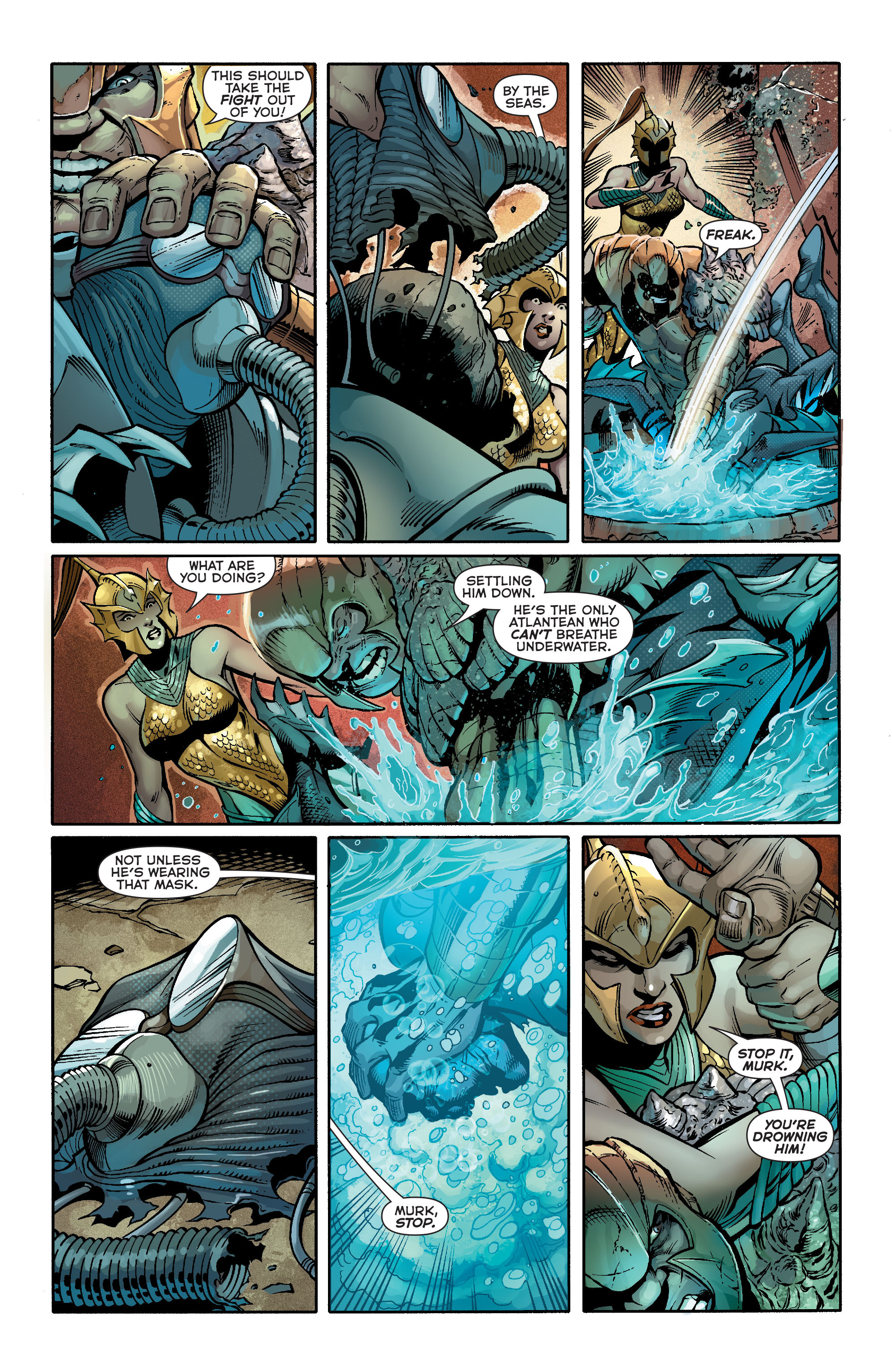 Read online Aquaman (2011) comic -  Issue #19 - 11