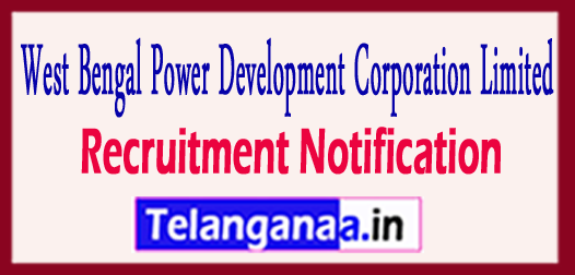 WBPDCL West Bengal Power Development Corporation Limited Recruitment Notification